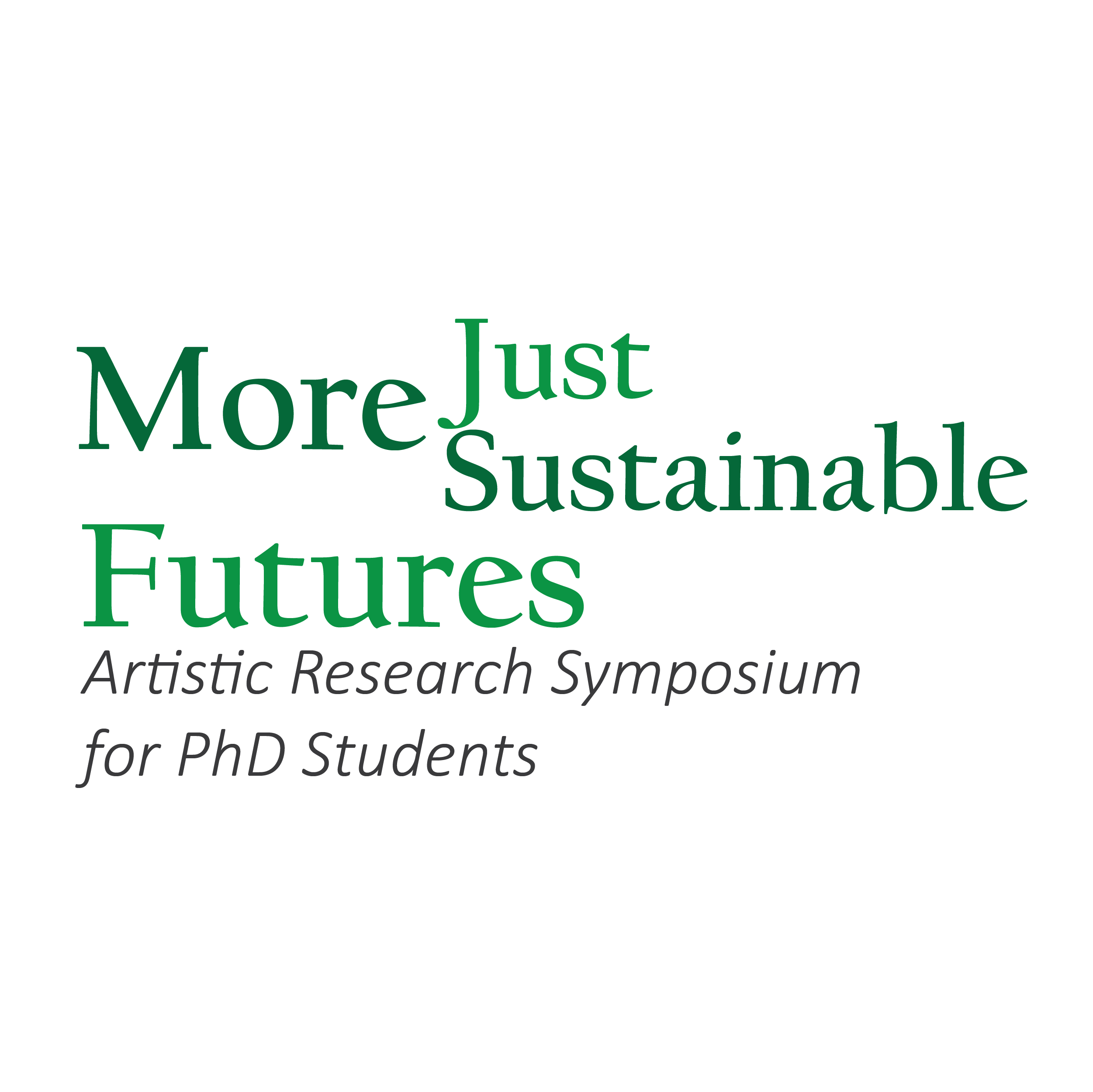 More Just, More Sustainable Futures  Logo